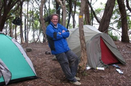 Little Deadmans Bay campsite