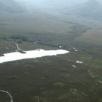 Airstrip with track leading from it