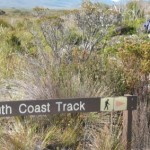 South Coast Track sign