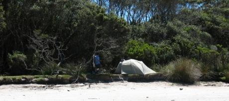 Point Eric campsite