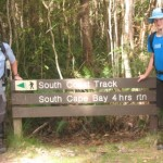 End of the South Coast Track