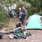 Prion Beach campsite