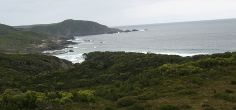 View from Rocky Plains - South Coast Track