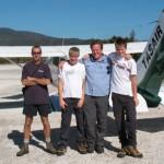 Tasair flight to Melaleuca