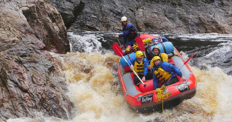 Franklin River rafting photo